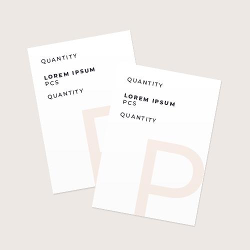 Certificate Quantity
