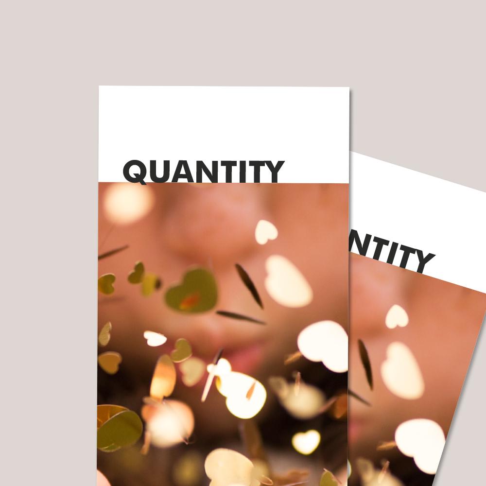 Flyer Quantity