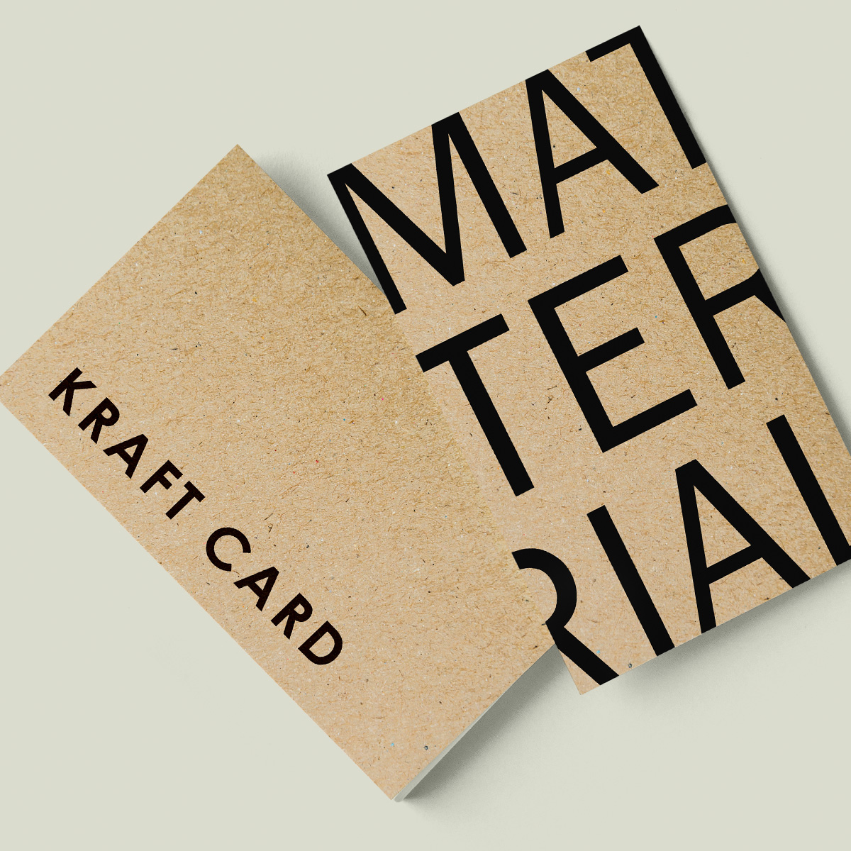 Kraft Business Card Material