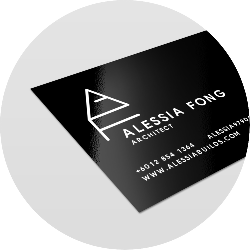 Laminated Business Card - AsahiArts Printing Kuching Sarawak