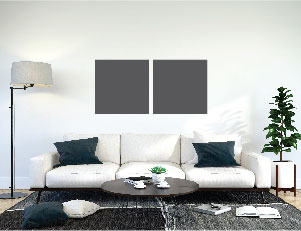 Canvas Size Compared to Sofa 2