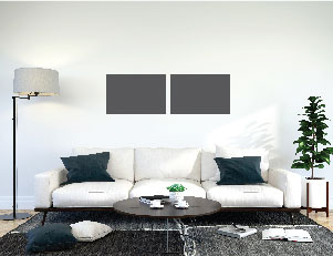 Canvas Size Compared to Sofa 5